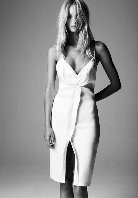 Deitas Hailey silk satin dress | Spring/Summer 2015 via fashionedbylove