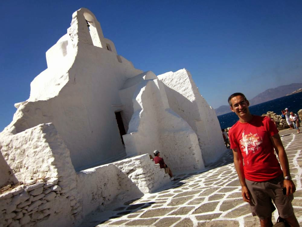 Paraportiani Church in Mykonos