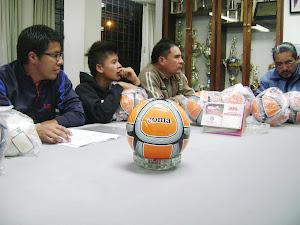 ENTREGA DE LOS BALONES JOMA