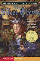 bookcover of THE SILVER CROWN by Robert C. O'Brien