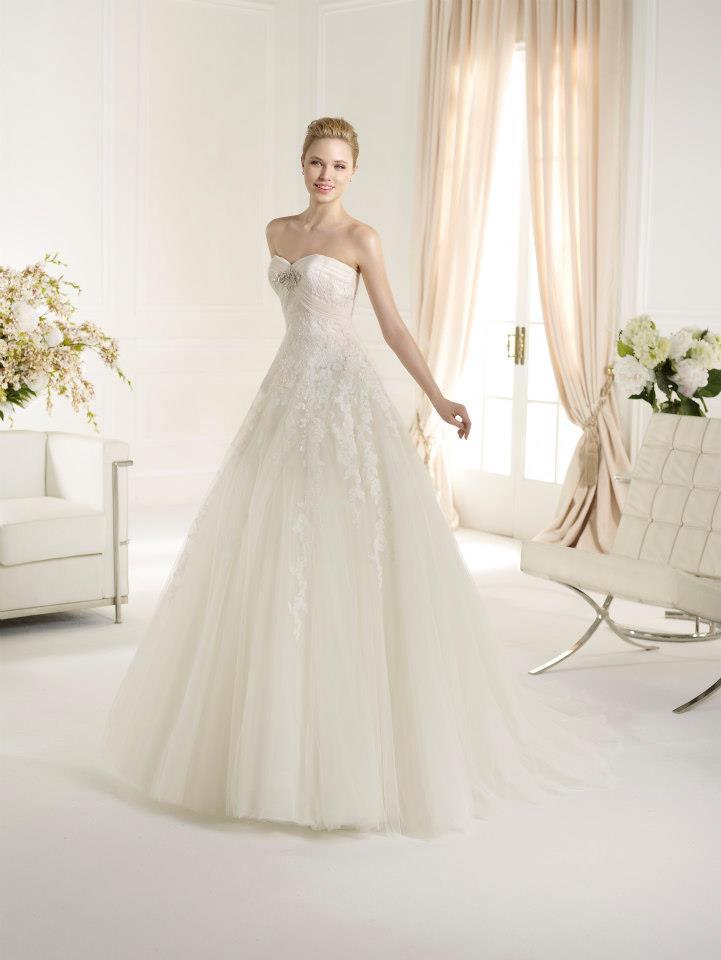 vestidos de corte princesa. san patrick 2013. - mis secretos de boda