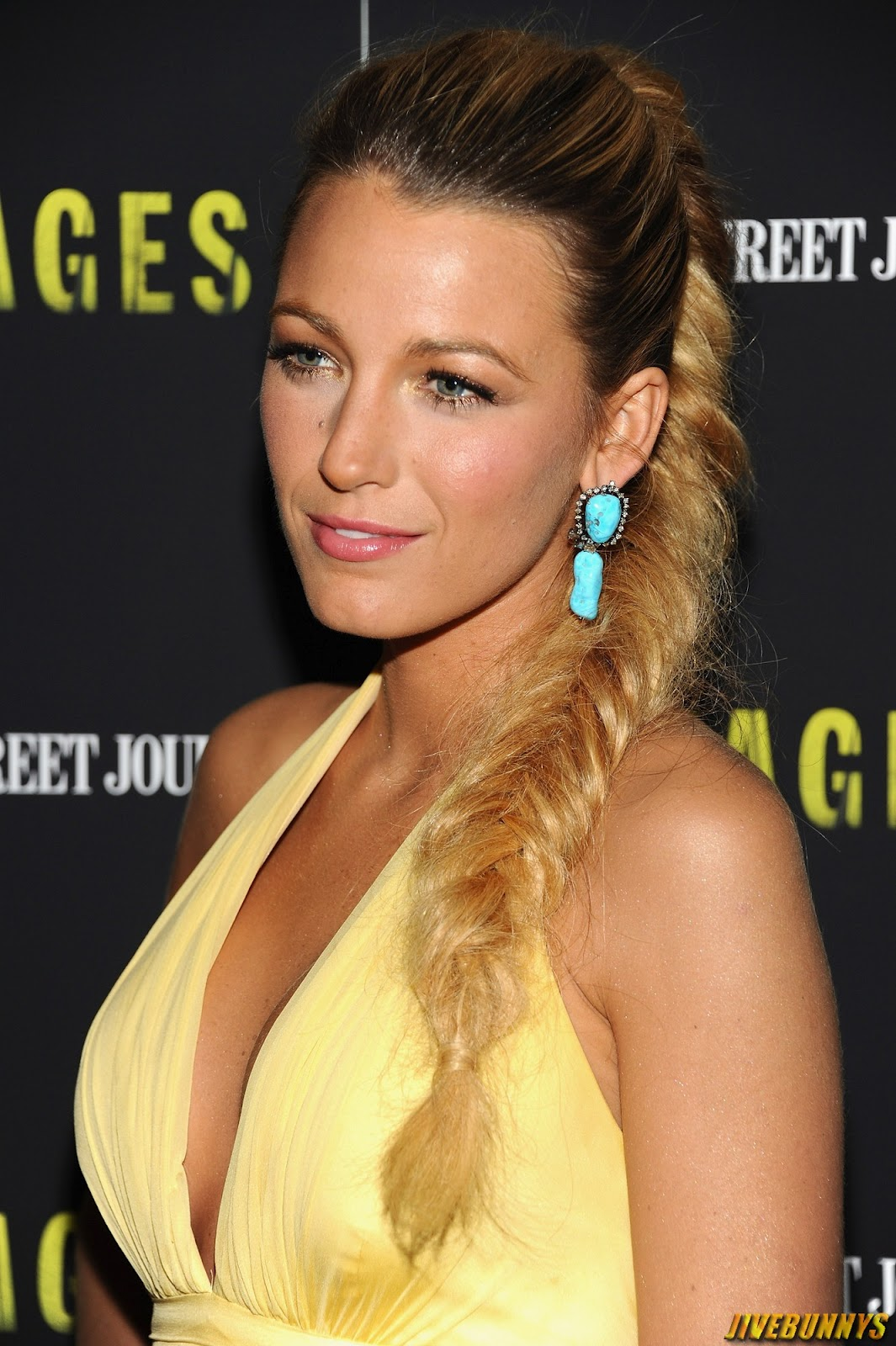 blake lively red dress makeup - photo #39
