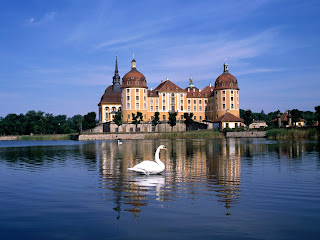 Moritzburg Castle near Dresden, Germany Desktop Wallpapers