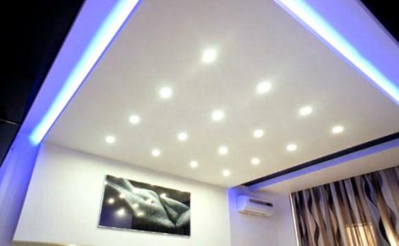 model plafon rumah minimalis terbaru dan contoh gambar