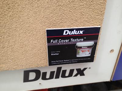 Dulux L Medium Texture Exterior Paint