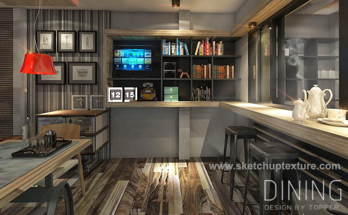 Best Free Sketchup 3d Model Kitchen Dining Room 10 Tutorial Sketchup