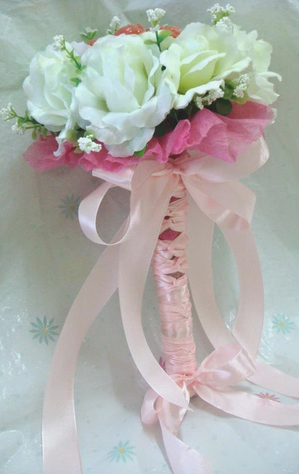 Wedding Flower Bouquet with Chocolates