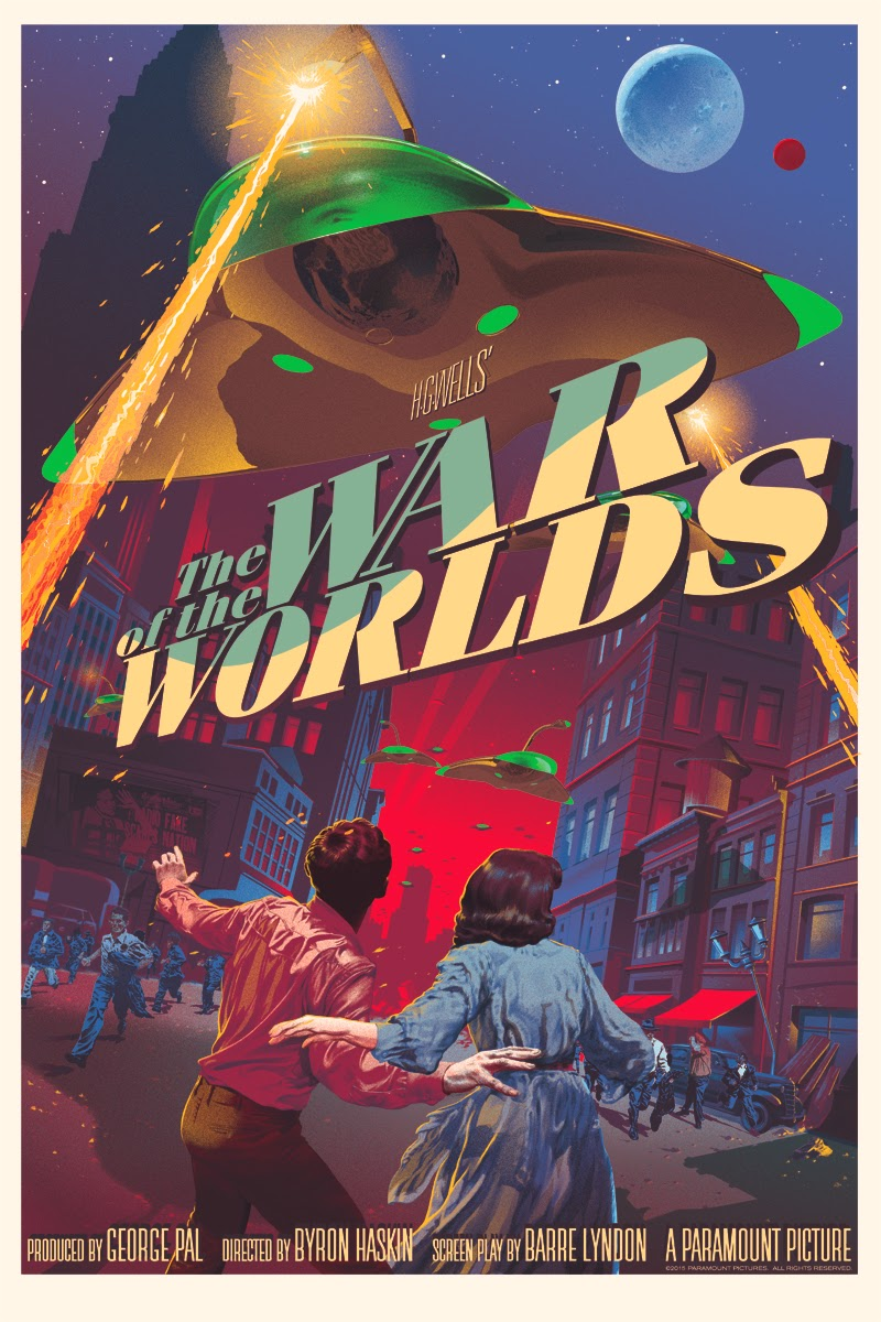 The War of the Worlds Standard Edition Screen Print by Stan & Vince