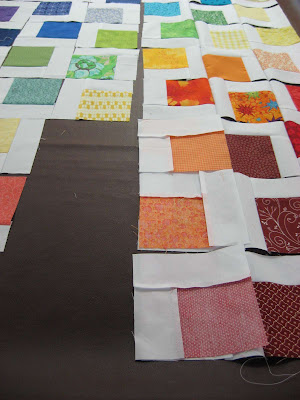 How to Chain Sew a Quilt Top ~ A Picture Tutorial