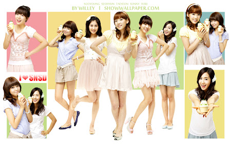 wallpaper girls generation