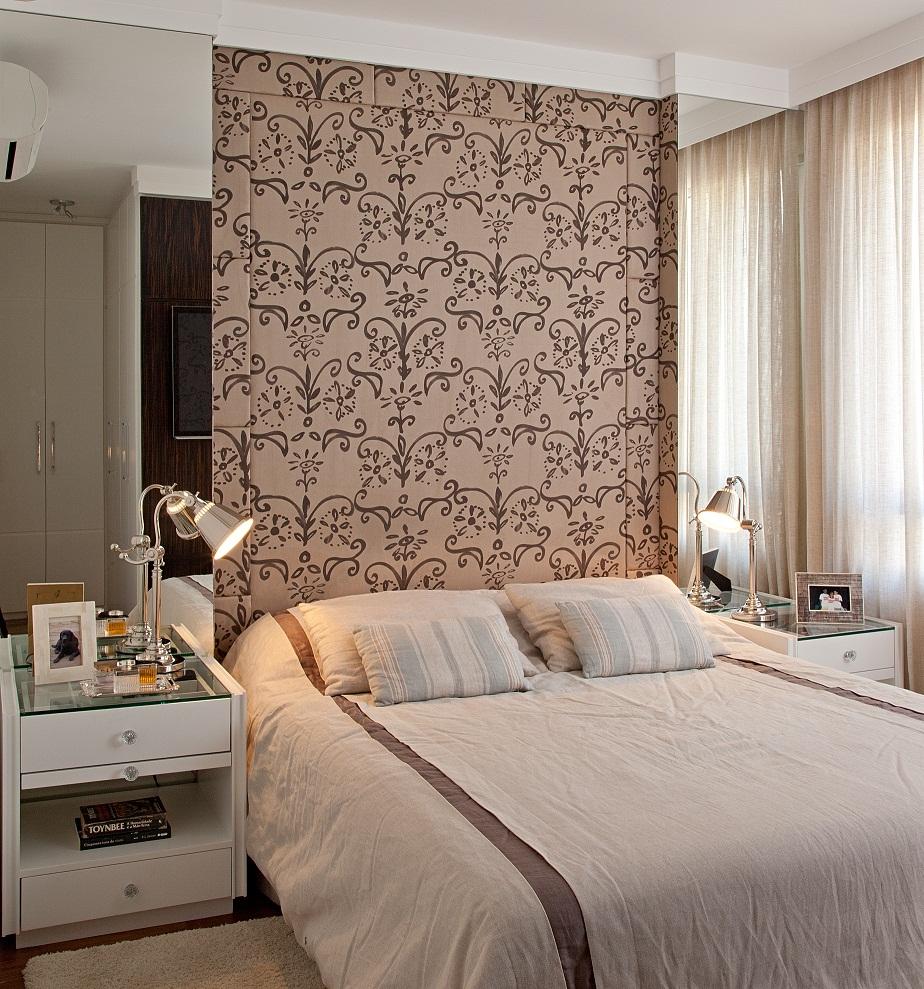 12 opções para usar espelhos na cabeceira da cama Decor  ~ Quarto Rosa Pedra