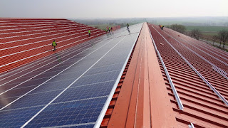 Mounting Photo Voltaic Panels on Rooftop