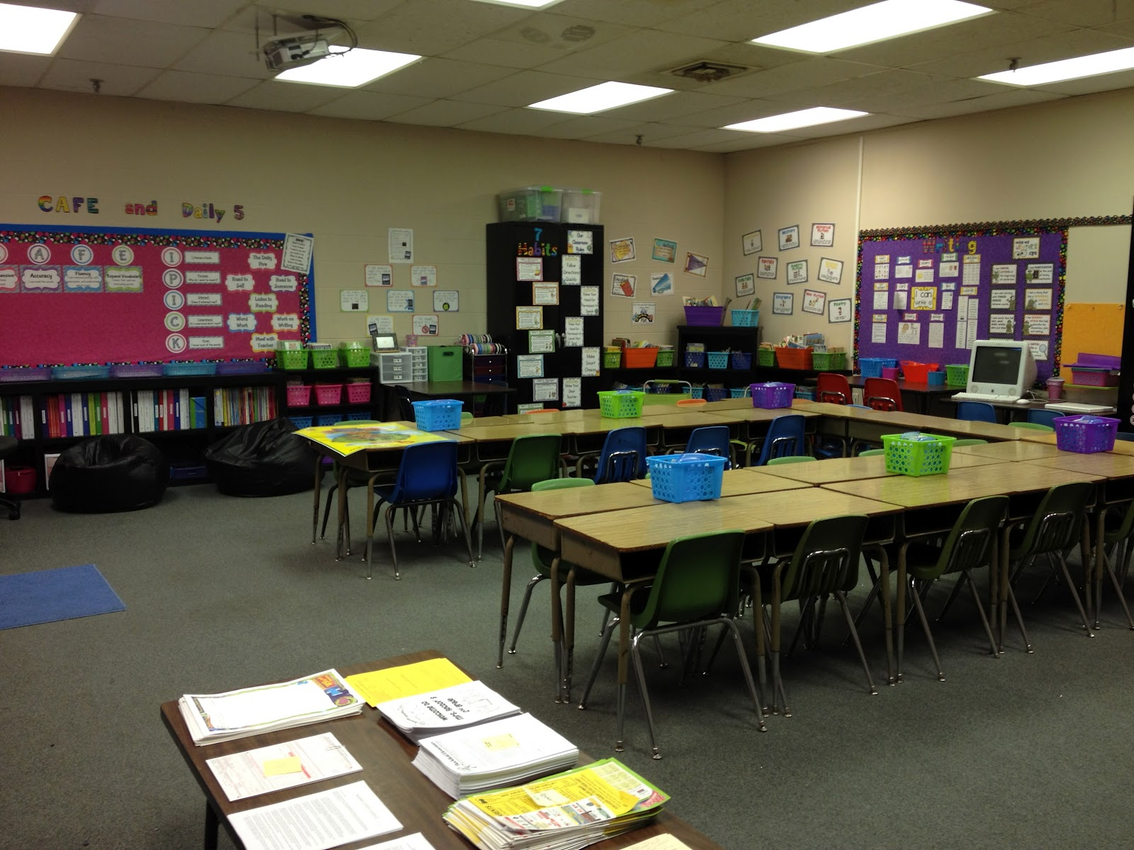 Classroom Arrangement Ideas Using Tables ~ Nd grade stuff take a tour of my classroom