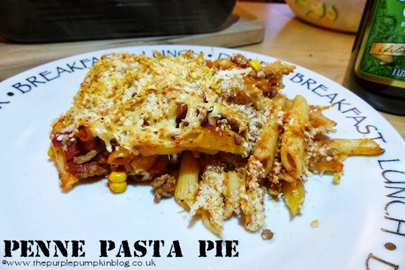 Penne Pasta Pie