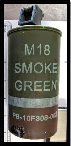 Inert Smoke Grenade