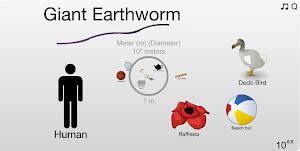 La Tierra a escala
