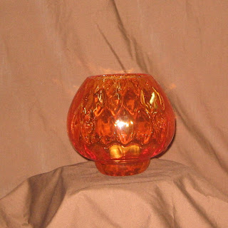 Order Orange Glass Votive Bowls for Autumn