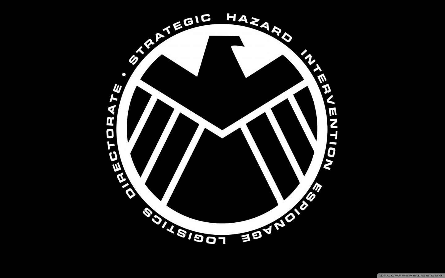 The Motif Is For Them Collectively, Shield's Logo Is An Eagle