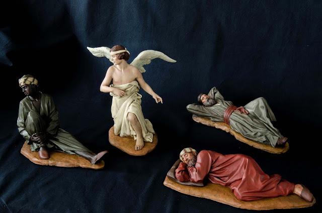 Belén Magos presepe nativity krippe Arturo Serra escultura barro cocido 1