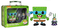 Funko Pop! Spongebob Leonardo and Shredder Plankton