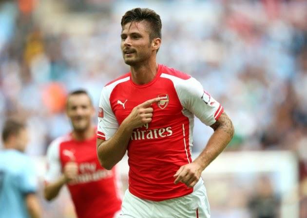 Pemain Arsenal Giroud Inginkan Liga Champions