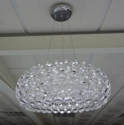 Mi casa mi hogar l mparas de cristal modernas de techo - Como hacer lamparas de techo modernas ...