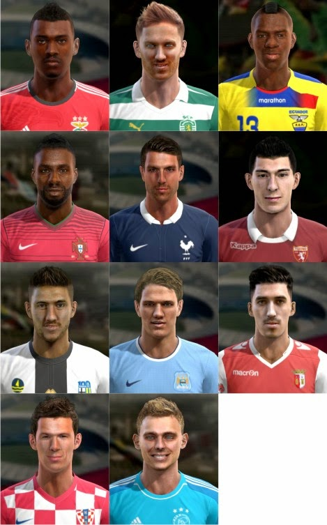 PES 2013 Facepack International by pablobyk