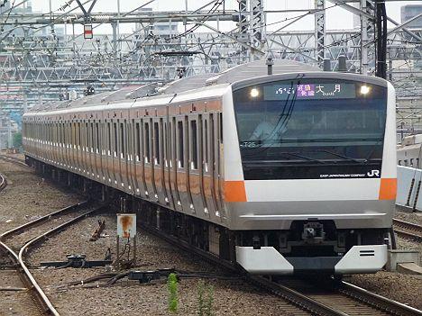 中央線 通勤快速 大月行き E233系