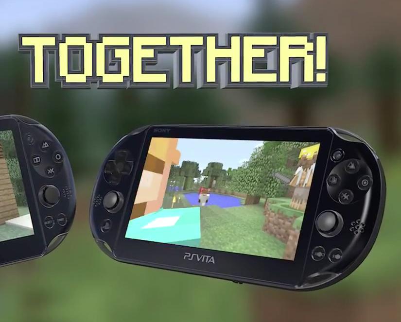 Minecraft PS Vita Tokyo Game Show Trailer PS Vita Hub - Minecraft spiele fur ps vita