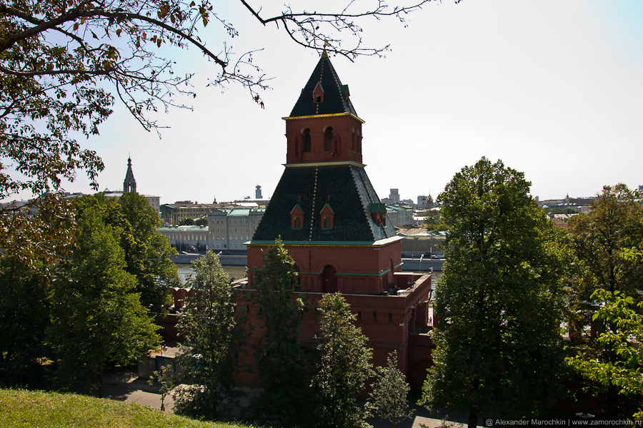 Тайницкая башня | The Secret (Tainitskaya) Tower