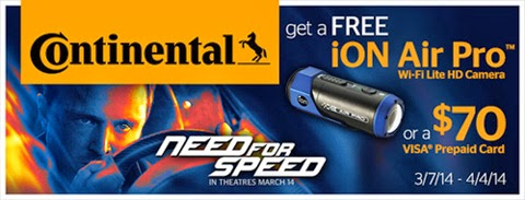 Continental Tire Coupons and Rebates 2014