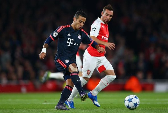 UCL: Arsenal vs Bayern Munich
