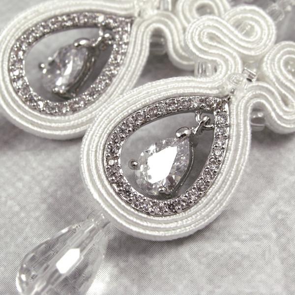 Ekskluzywna biżuteria ślubna soutache