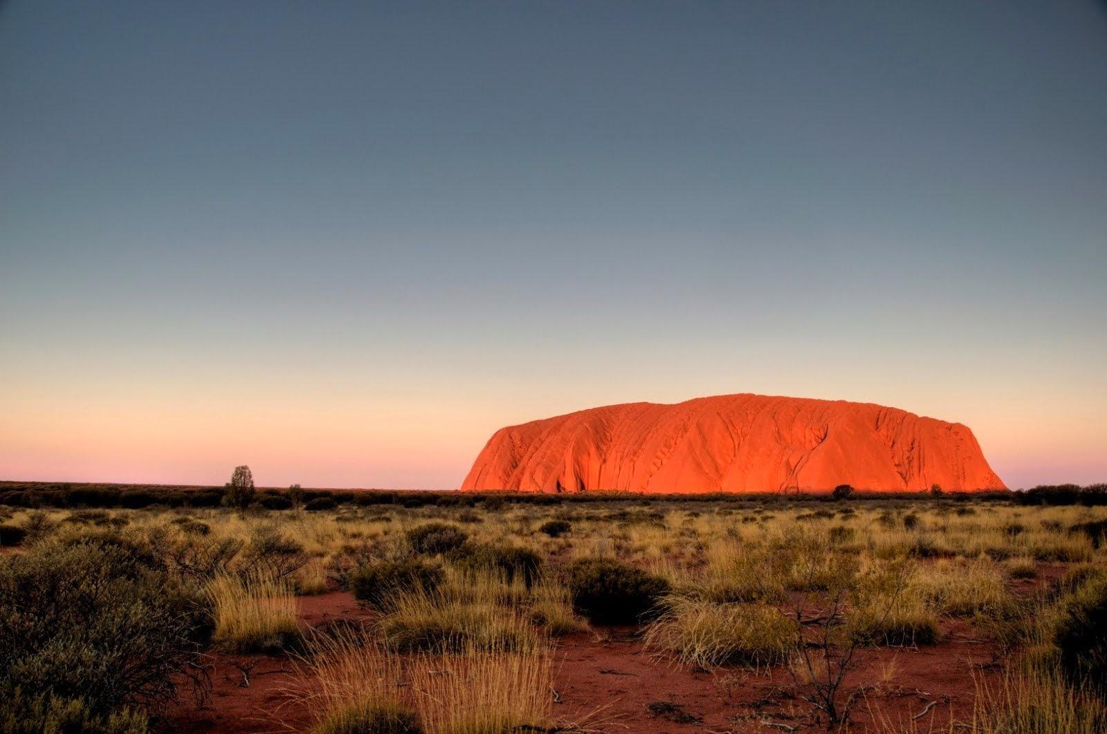 Uluru- outback