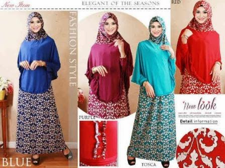 Gamis Baju Busana Muslim Lebaran Trend 2015 Terbaru Aneka