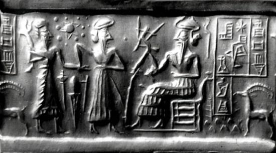 Sumerian Akkadian cylinder seal
