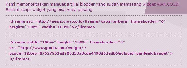Cara Submit Tulisan Blog di Viva Log dan Tutorial