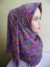 NEW CUSTOMADE COLLECTION : TUDUNG BAWAL CREPE PAISLEY..