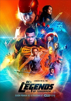 Lendas do Amanhã - Legends of Tomorrow 2ª Temporada Séries Torrent Download capa