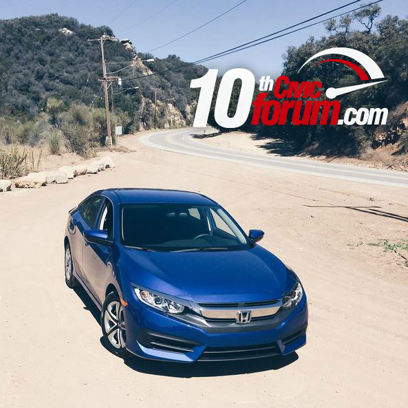 New 2016 Honda Civic Shows Its Colors Out In The Open