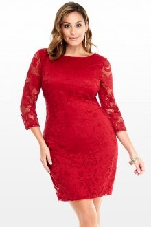 curvy interest plus size christmas dresses outfits