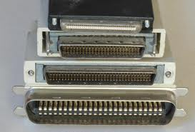 Image result for SCSI [Small Computer System Interface] -50/68/80 Pins