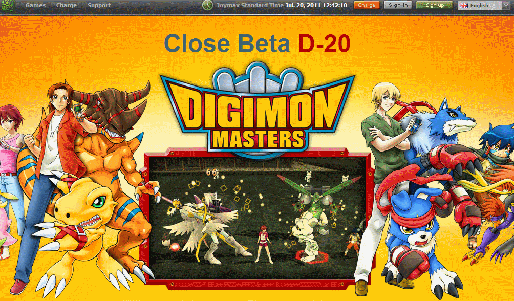 DMO Digimon Masters Online