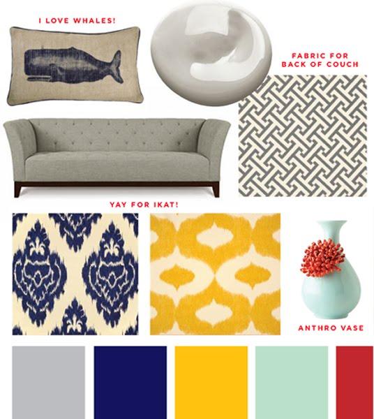 grey-white-yellow-bedroom | living....sleeping.....working ...