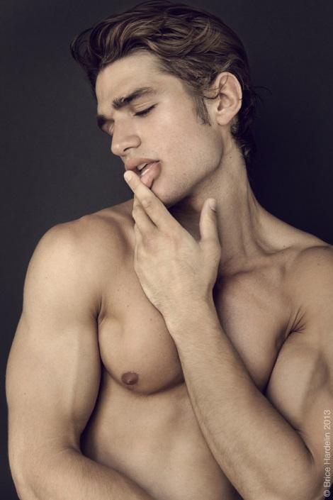 Baptiste Giannesini by Brice Hardelin for Lash Magazine