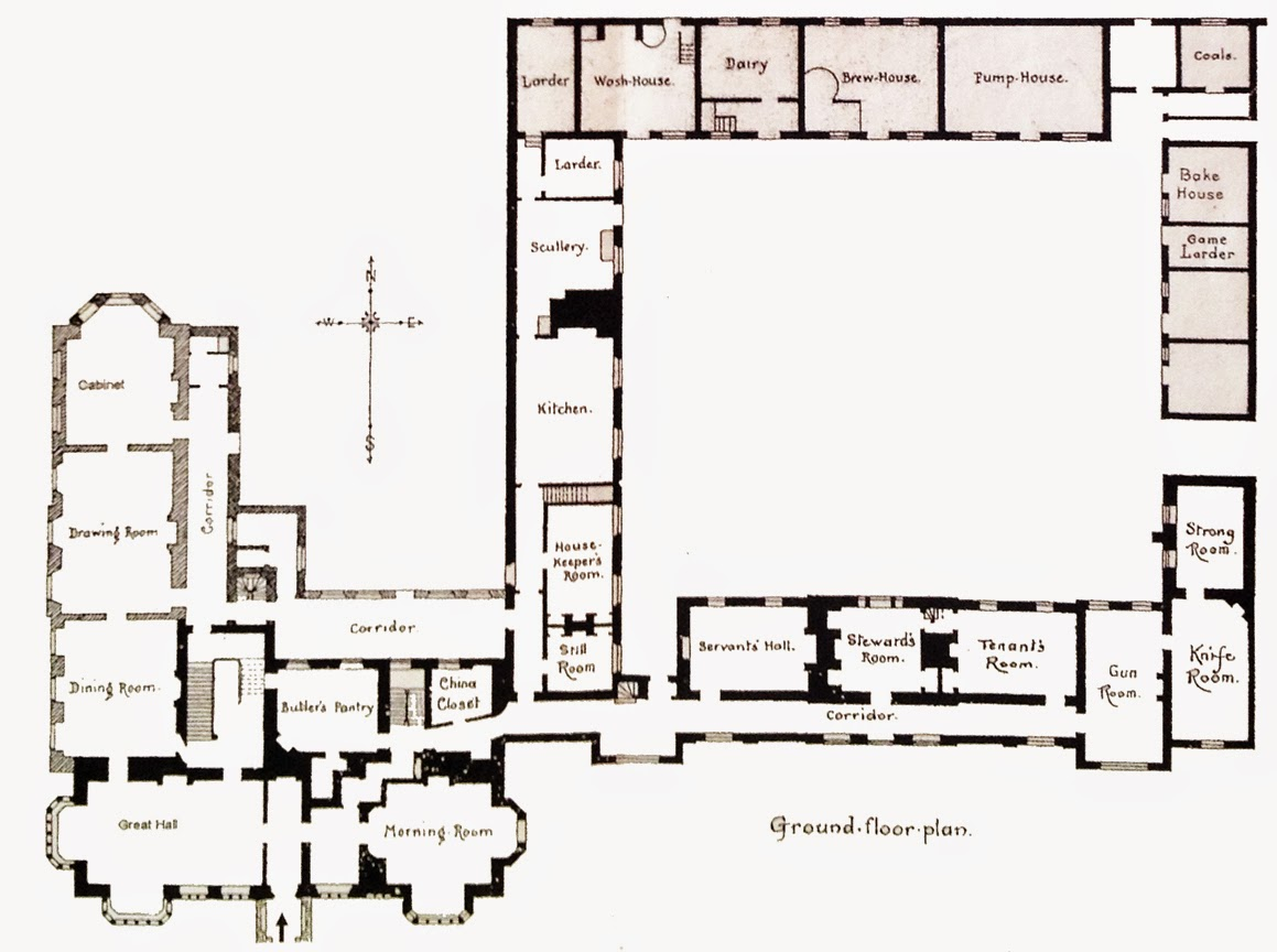 The Great Country Estates Of Britain_4 on English Tudor Cottage House Plans