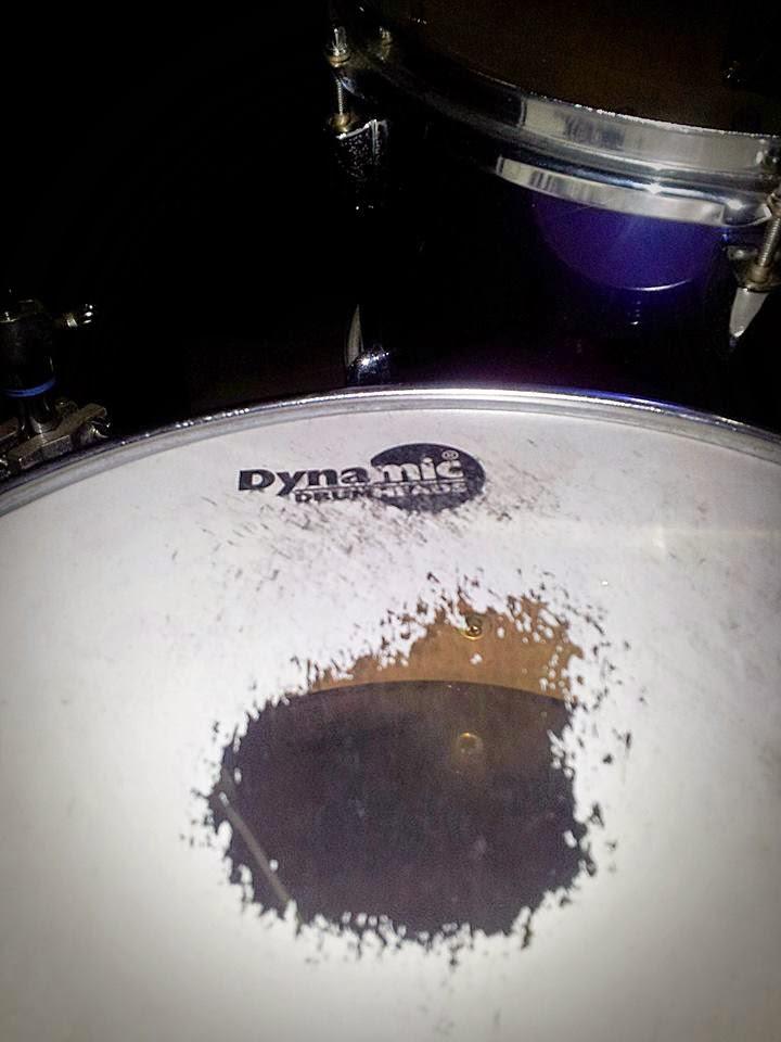 Coating Memudar Dynamic Drum Head