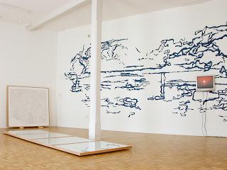 Richard Müller: galerie Quellgasse vue de l'installation