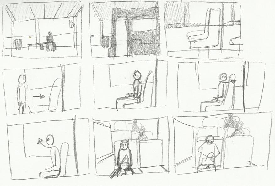 Alexs Adventures In Wonderland Sketchbook Thumbnail Storyboard 21