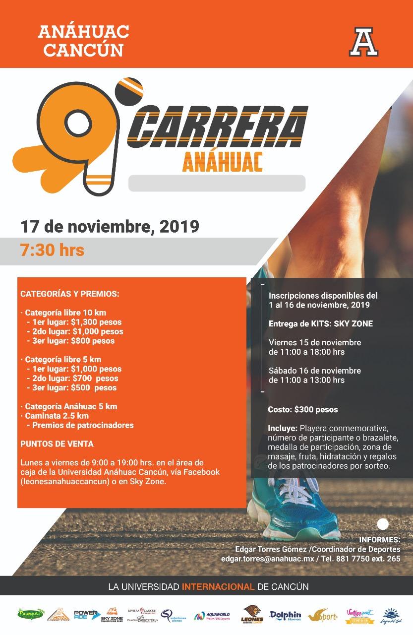 Carrera Anahuac 5 10 km